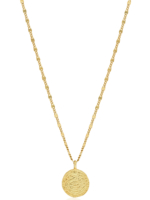 Cecile Gold Necklace